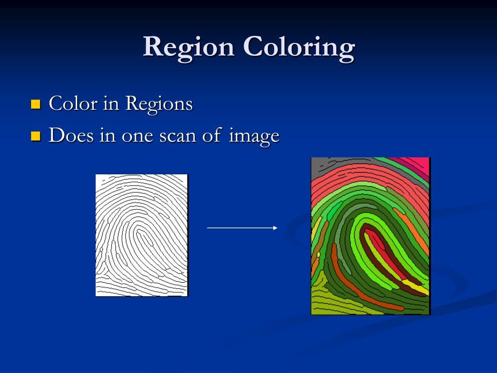 Region Coloring