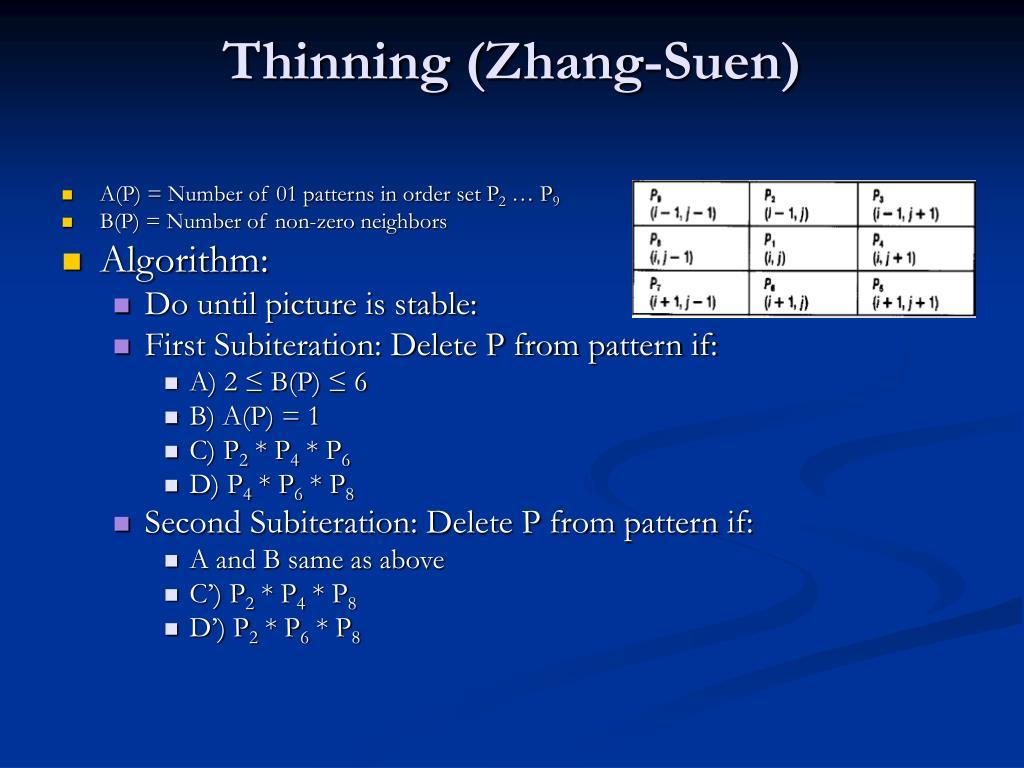 Thinning (
