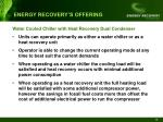energy recovery s offering18