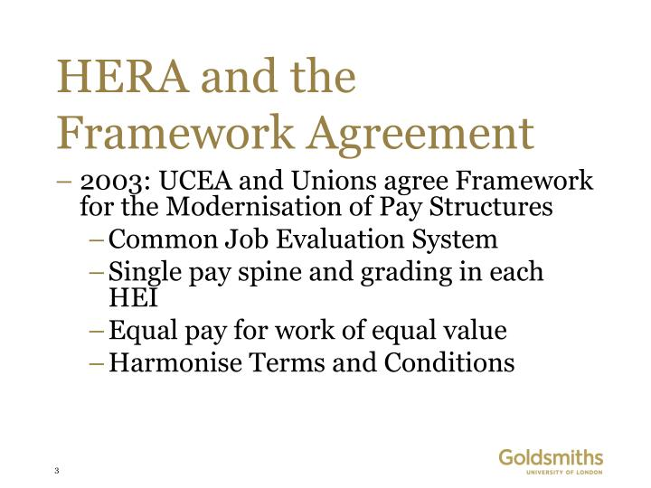 Hera and the framework agreement3