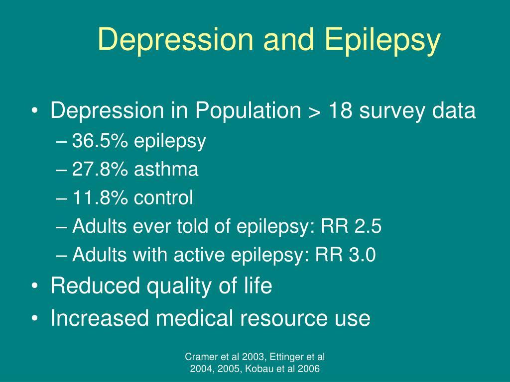 Depression and Epilepsy