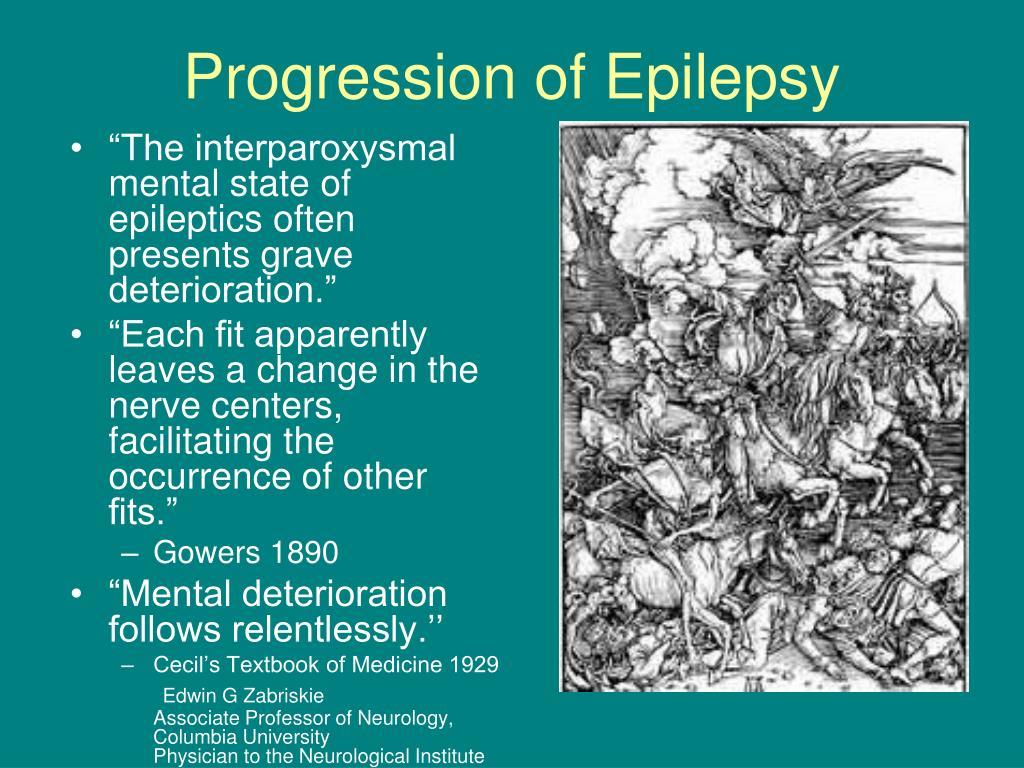 Progression of Epilepsy