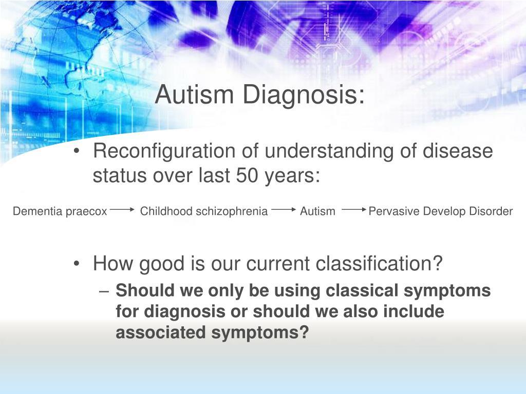 Autismi Diagnoosi