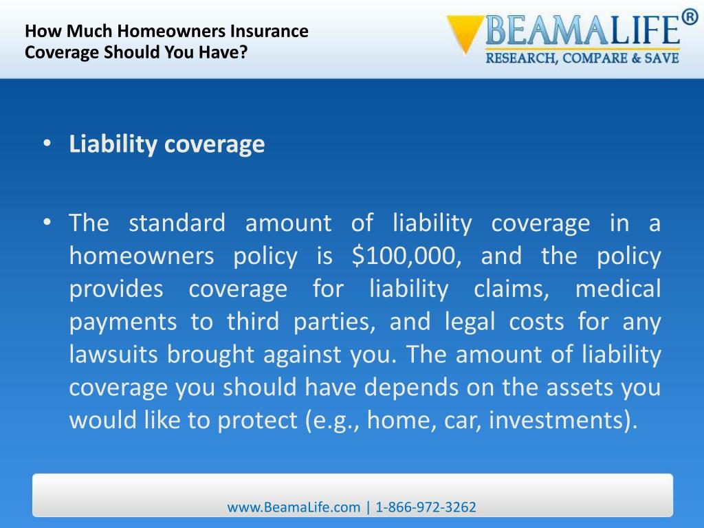 How Much Homeowners Insurance
