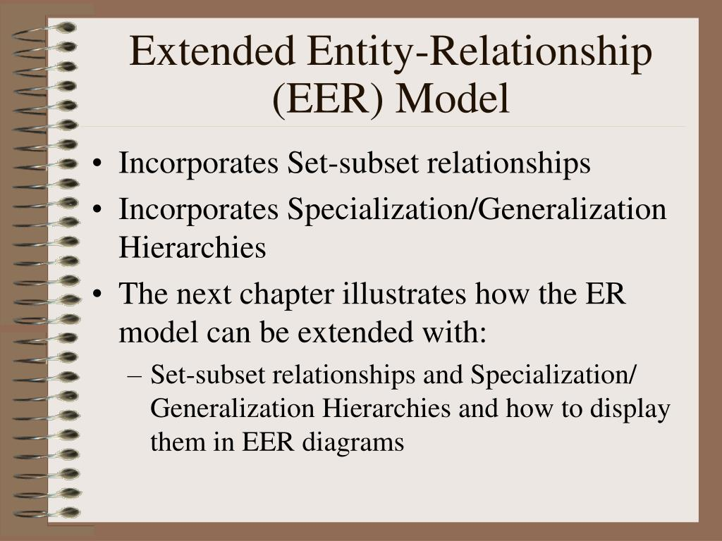 entity relationship diagrams and the relational model