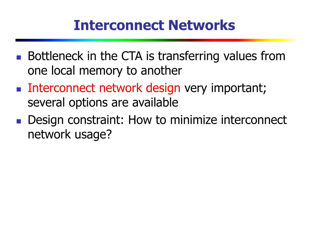 Interconnect Networks
