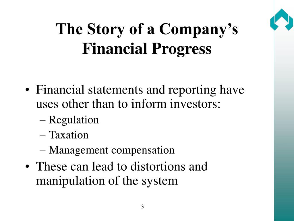 The Story of a Company's Financial Progress