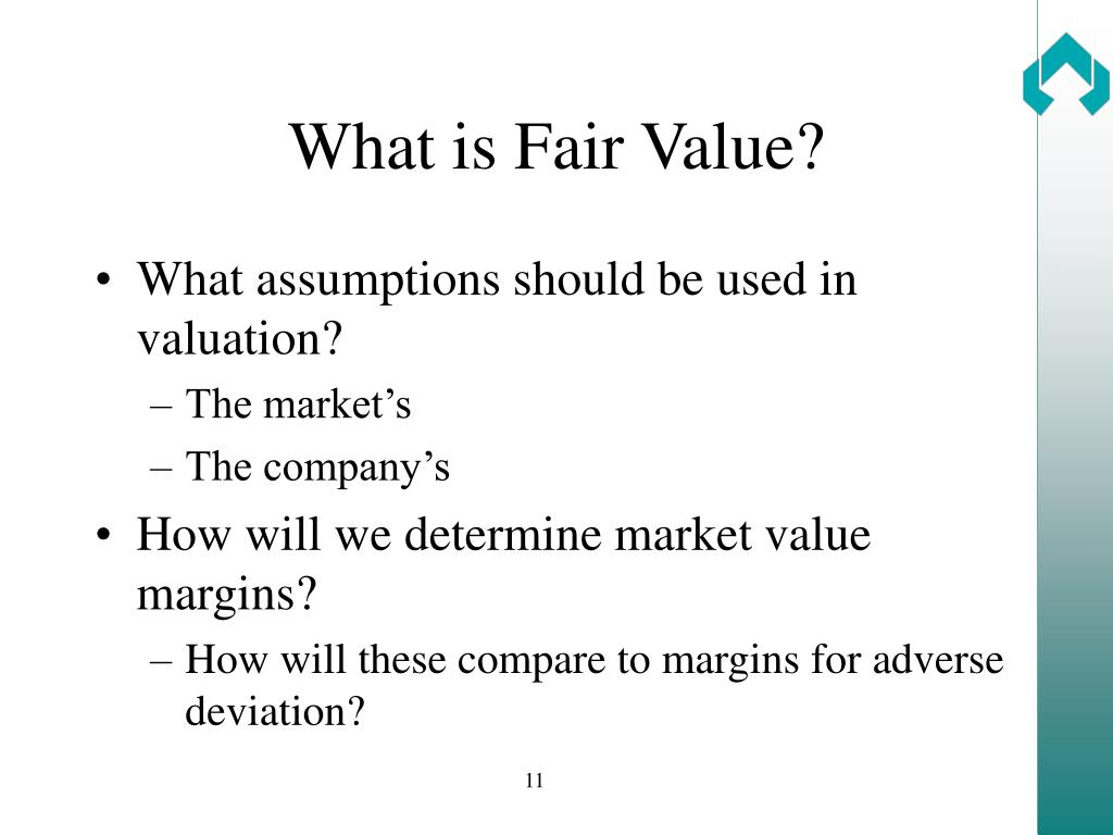 What is Fair Value?