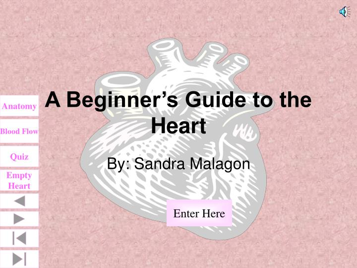 A beginner s guide to the heart