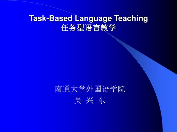 Task based language teaching l.jpg