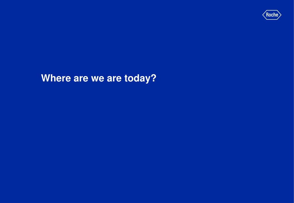 Where are we are today?