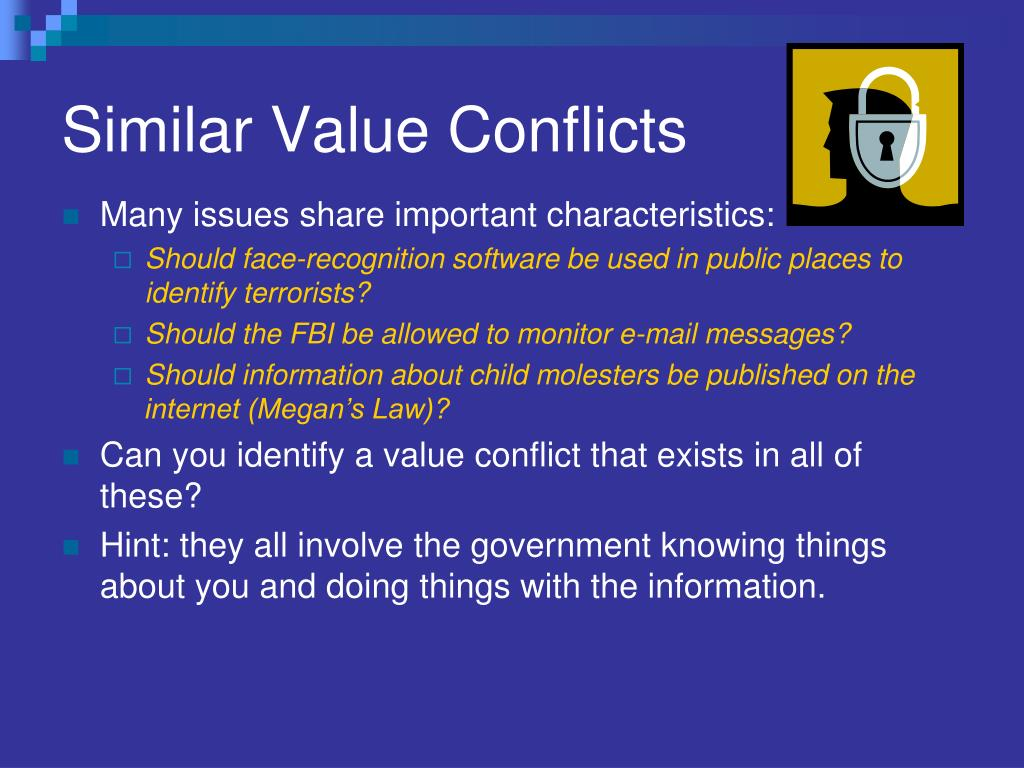 Similar Value Conflicts