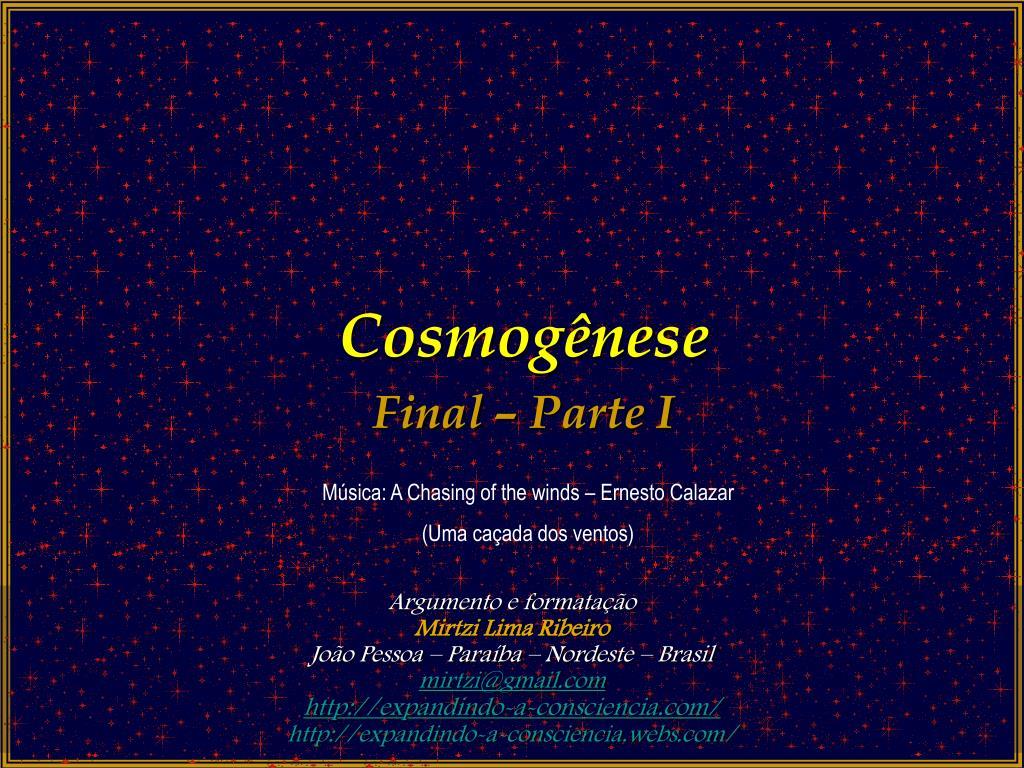 Cosmogênese