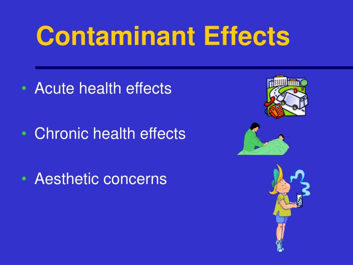 Contaminant Effects