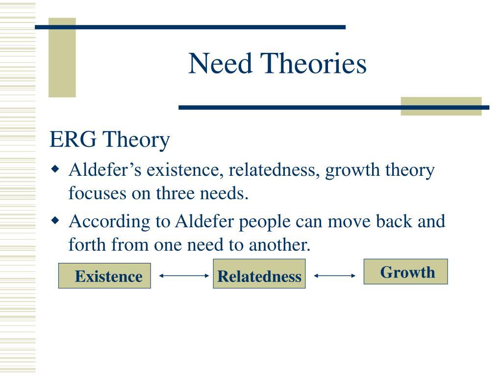 Need Theories
