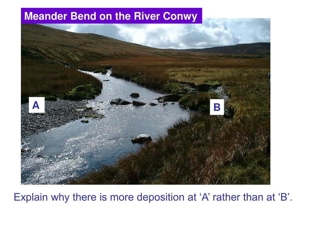 Meander Bend on the River Conwy