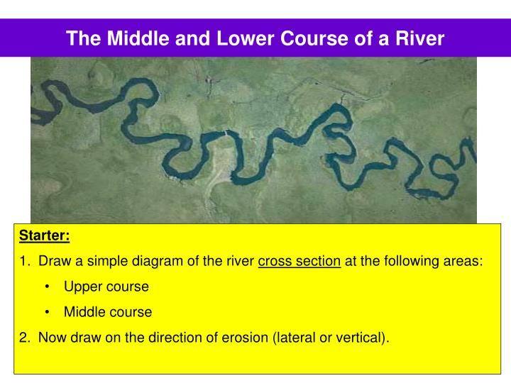 The middle and lower course of a river l.jpg
