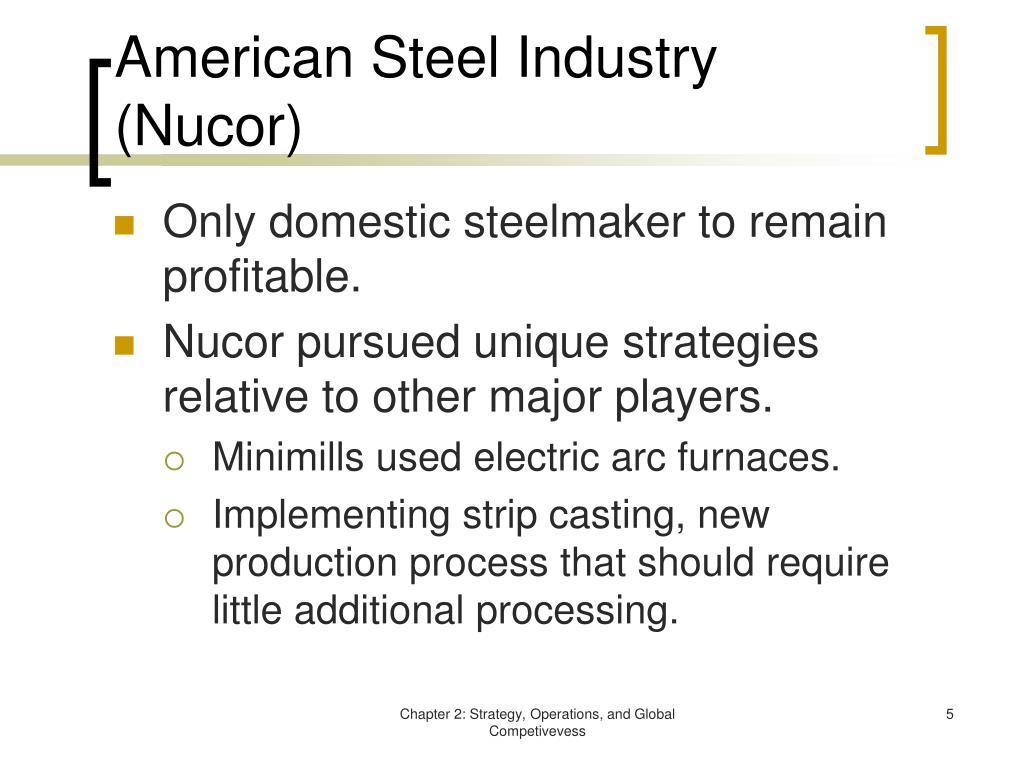 American Steel Industry (Nucor)