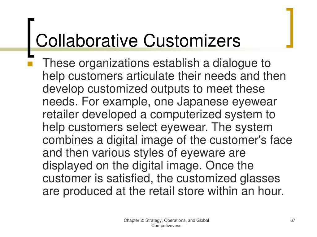 Collaborative Customizers