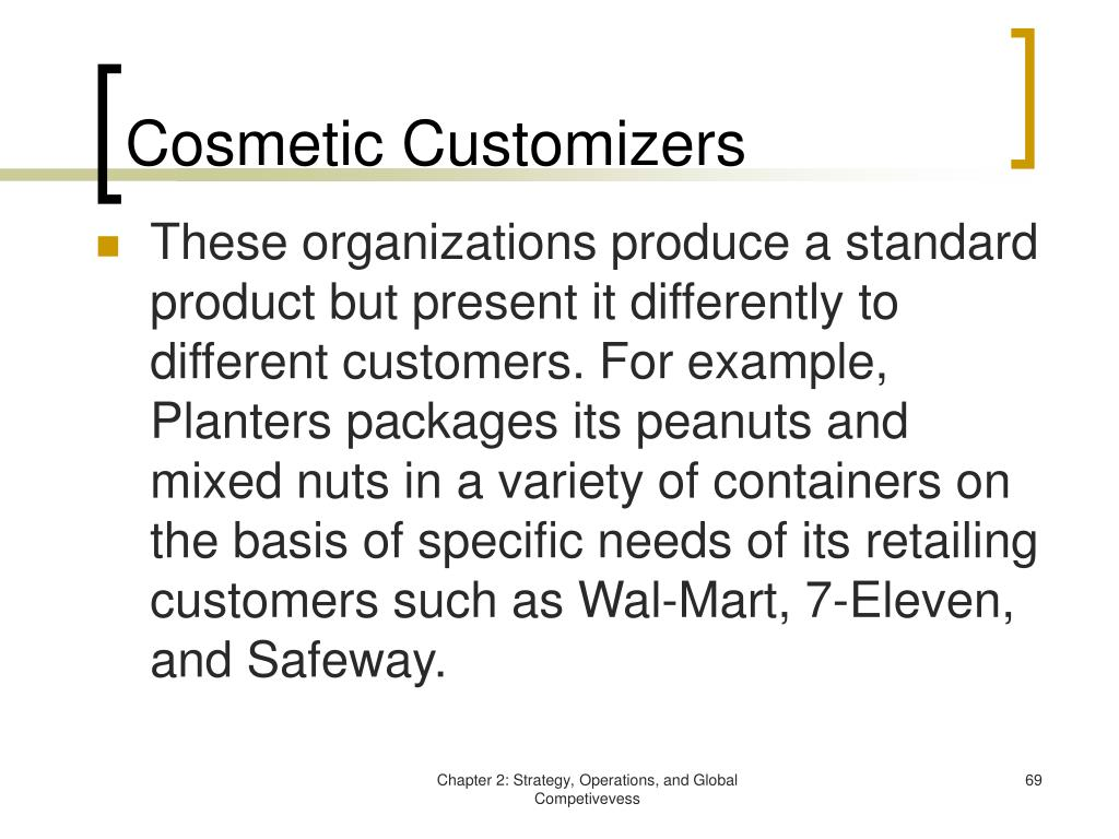 Cosmetic Customizers