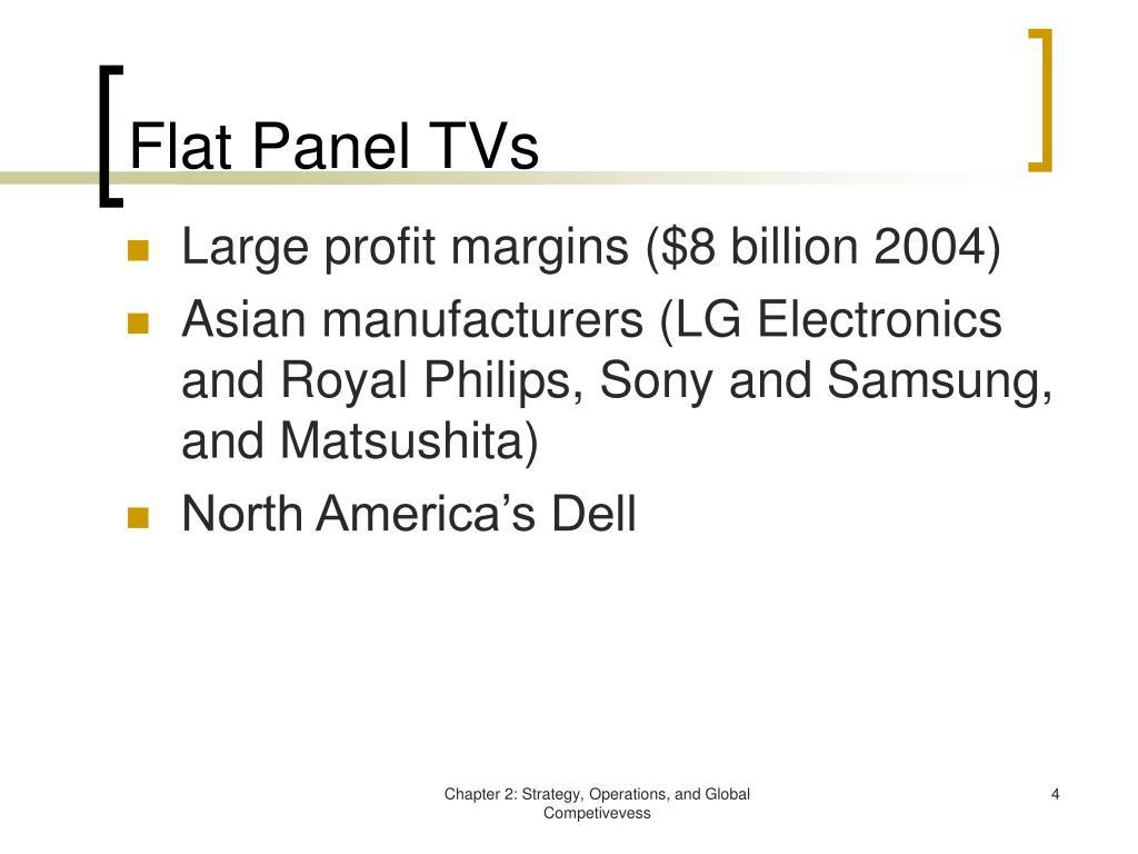 Flat Panel TVs