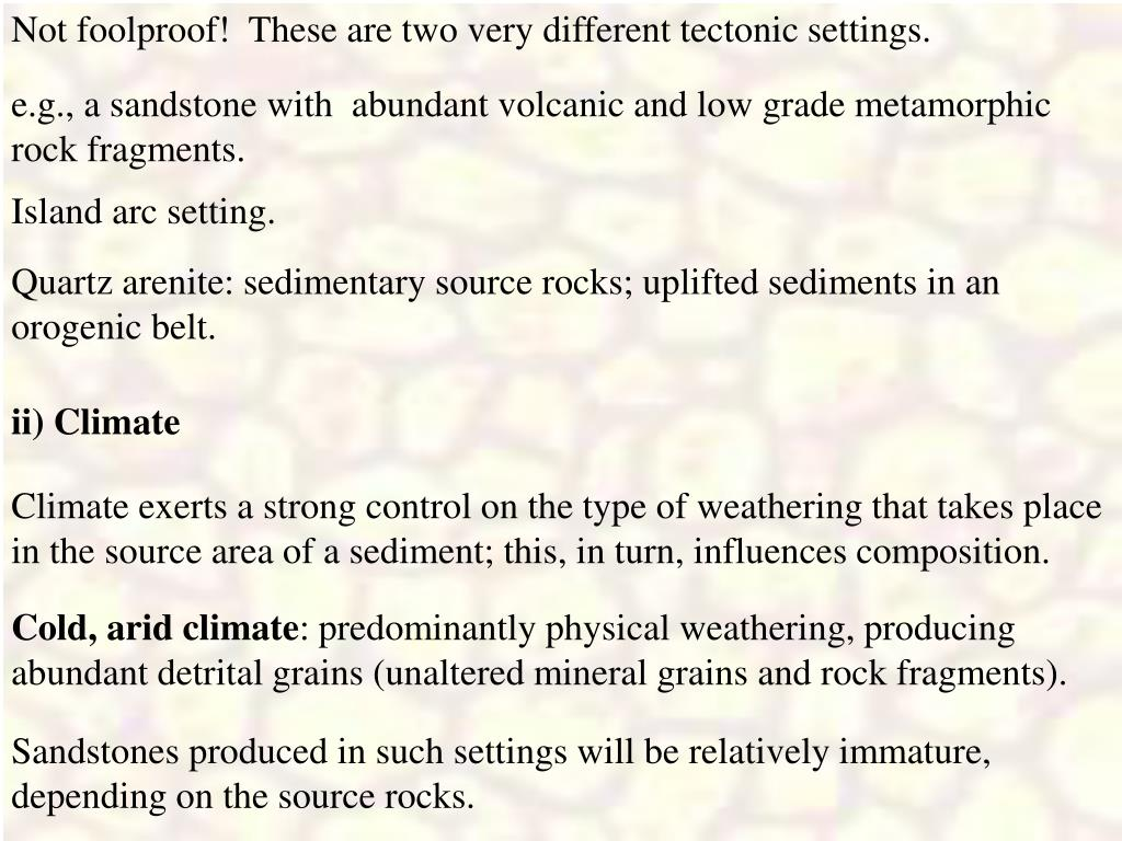 Not foolproof!  These are two very different tectonic settings.