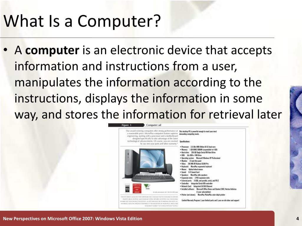 What Is a Computer?