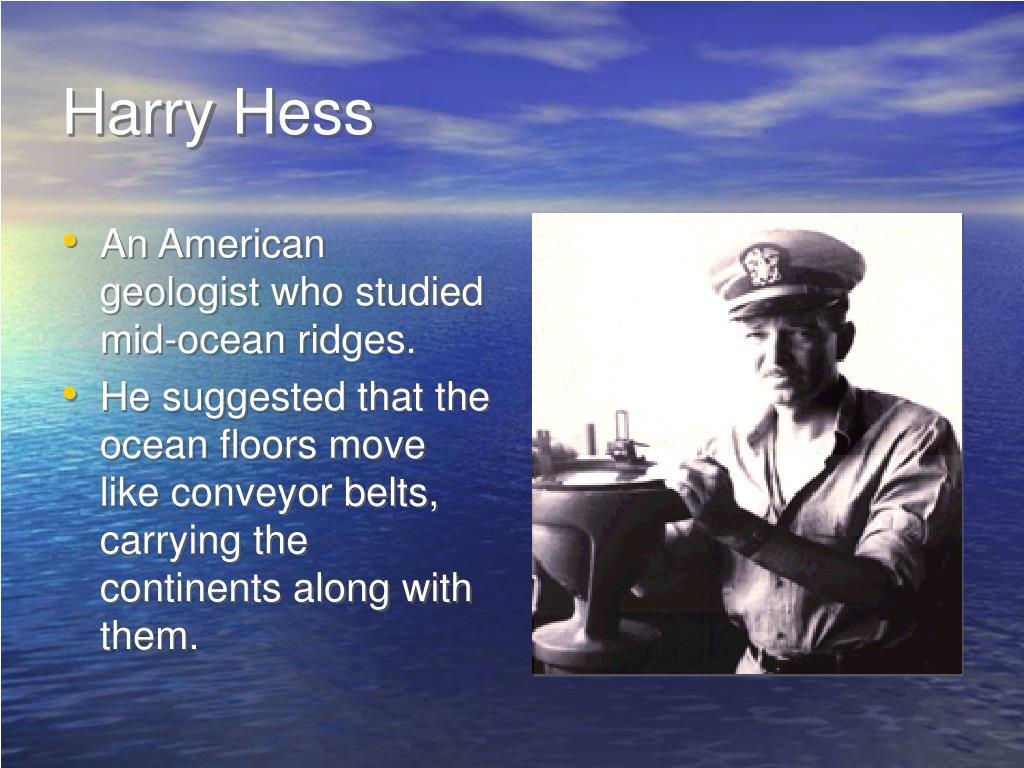 Harry Hess