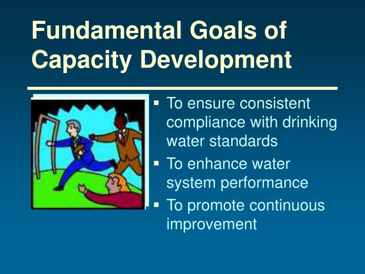 Fundamental Goals of Capacity Development