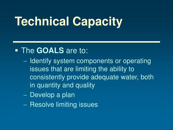 Technical Capacity