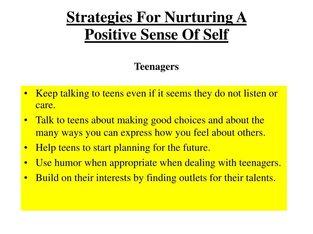 Strategies For Nurturing A
