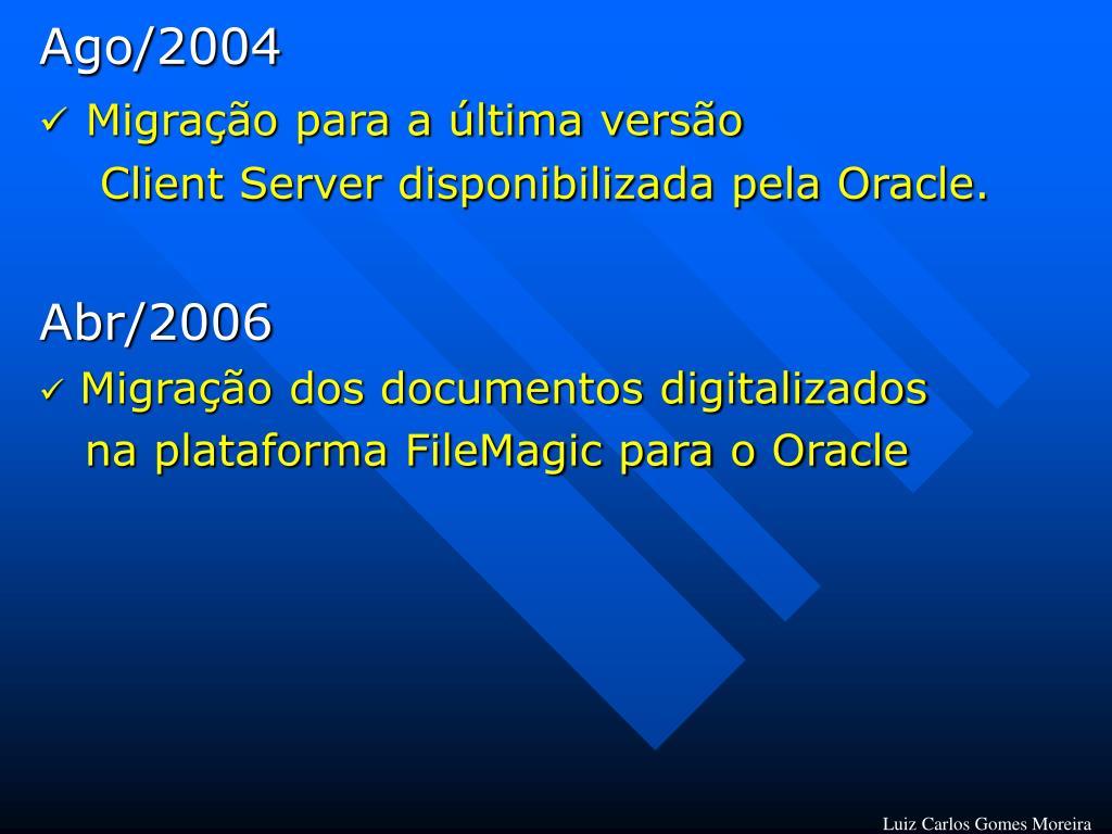Ago/2004