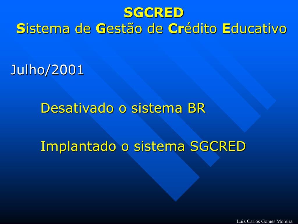 SGCRED