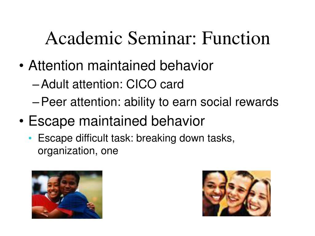 Academic Seminar: Function