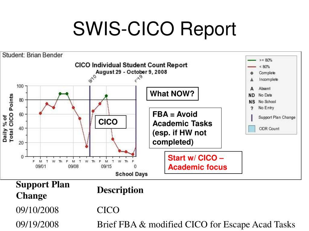 SWIS-CICO Report