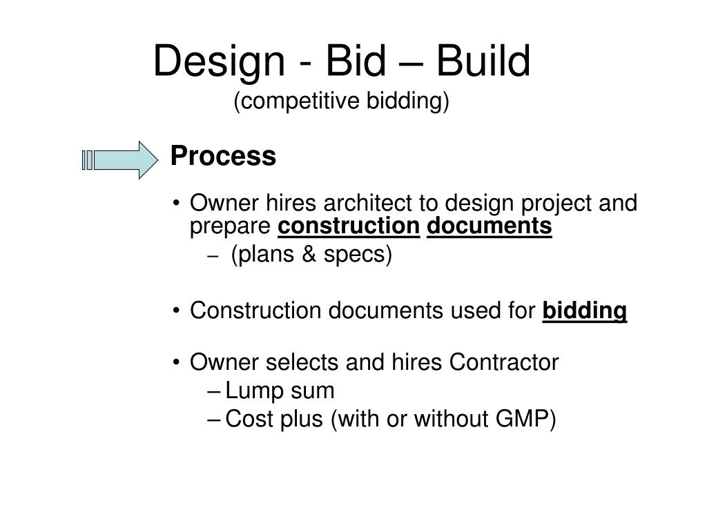 PPT - Project Delivery Methods PowerPoint Presentation