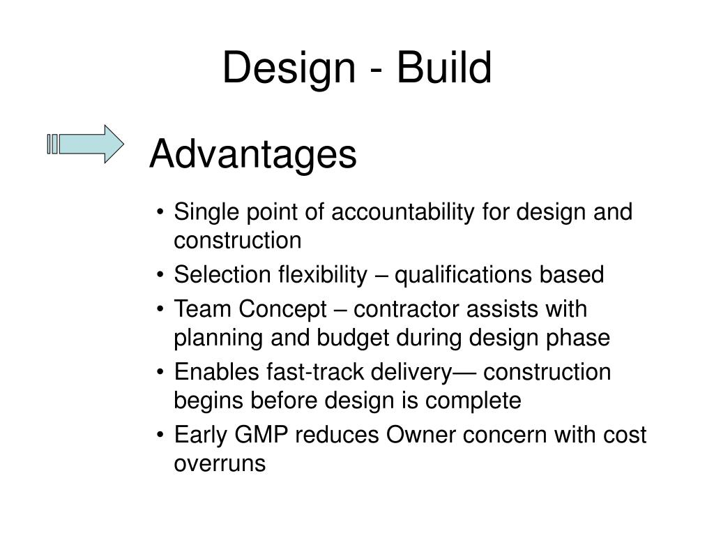 design build project delivery method Ipd vs design build integrated project design fully utilizes all the positive aspects of a true design build delivery method without the costly gaps and.