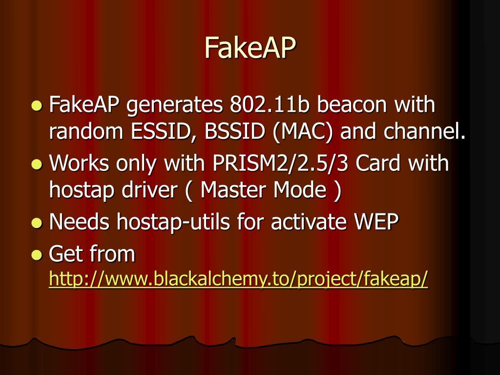 FakeAP