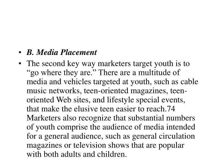 B. Media Placement