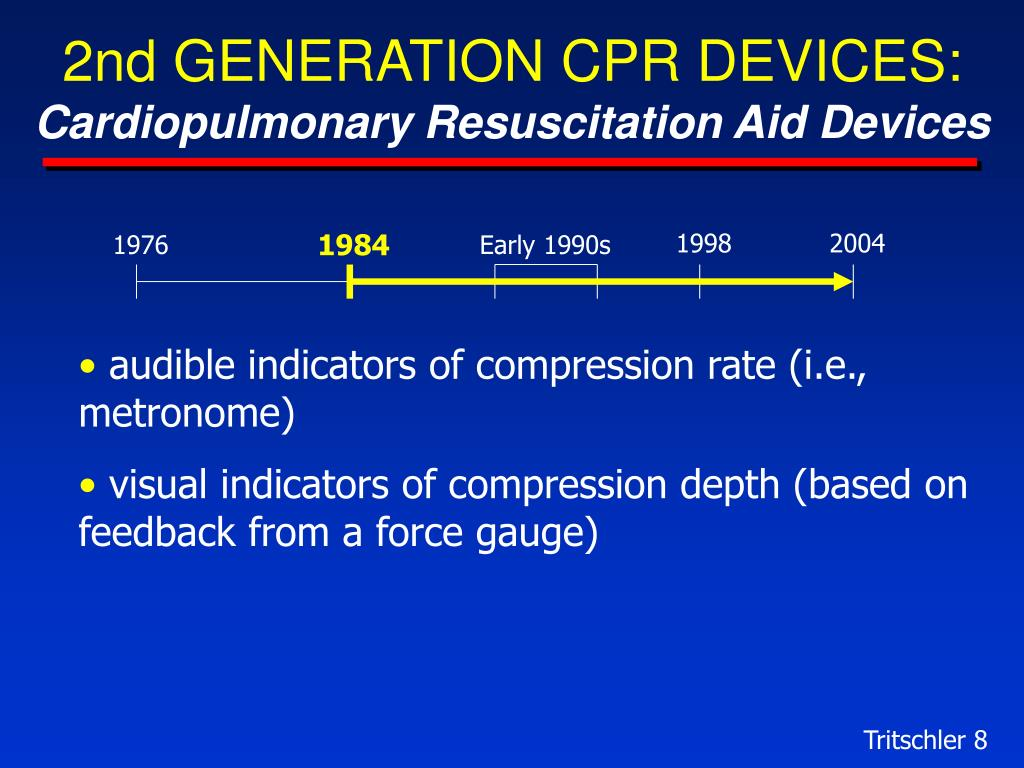 2nd GENERATION CPR DEVICES: