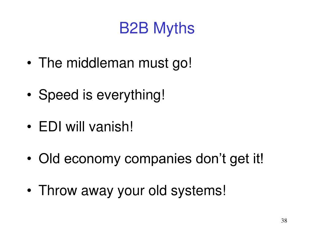B2B Myths
