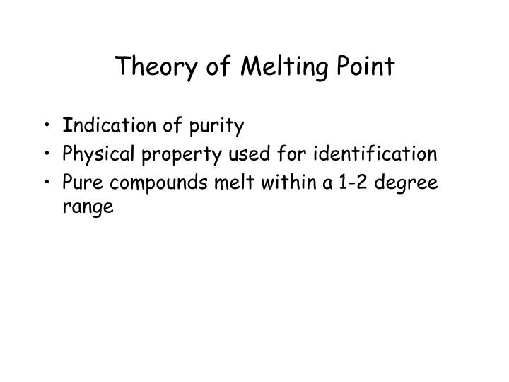 Theory of melting point l.jpg