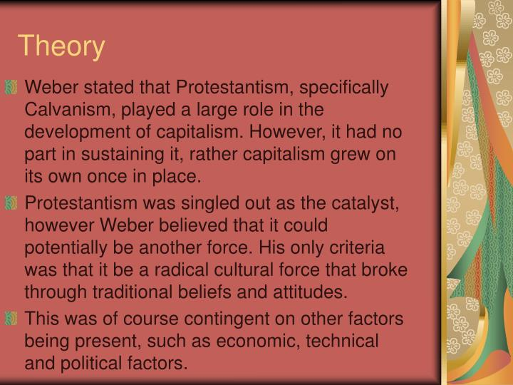 explain and evaluate weber protestant ethic thesis