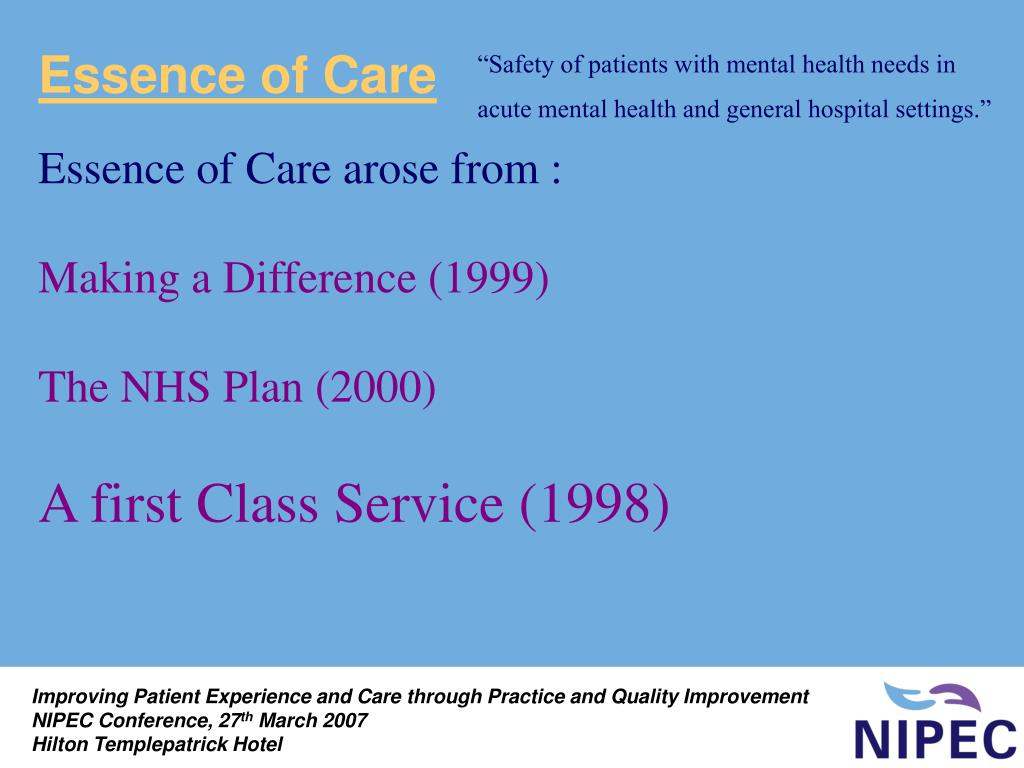 Essence of Care
