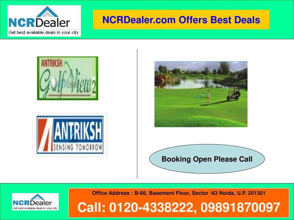 NCRDealer.com Offers Best Deals