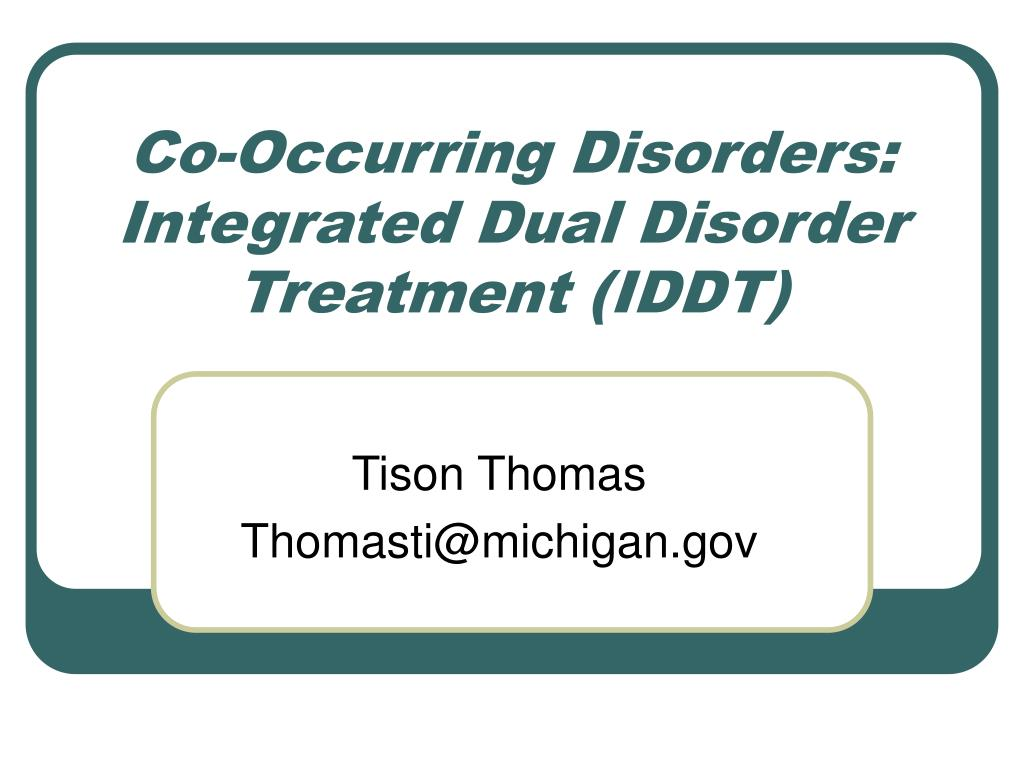 Co-Occurring Disorders: