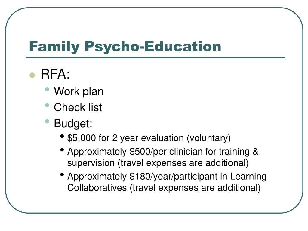Family Psycho-Education