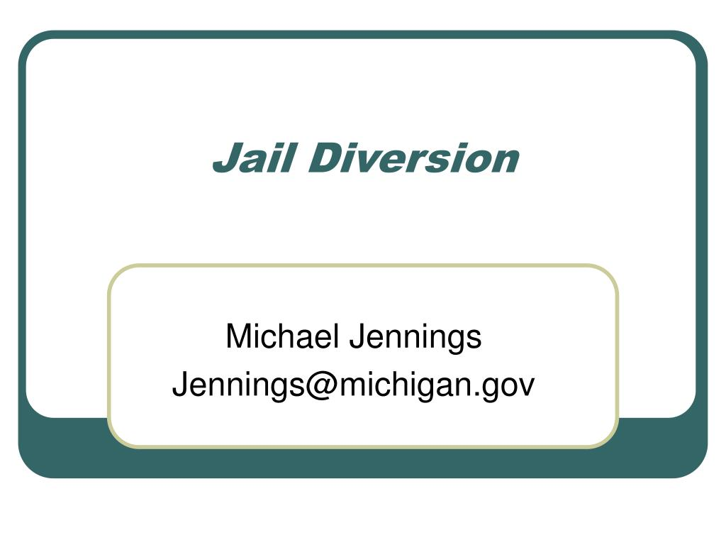 Jail Diversion