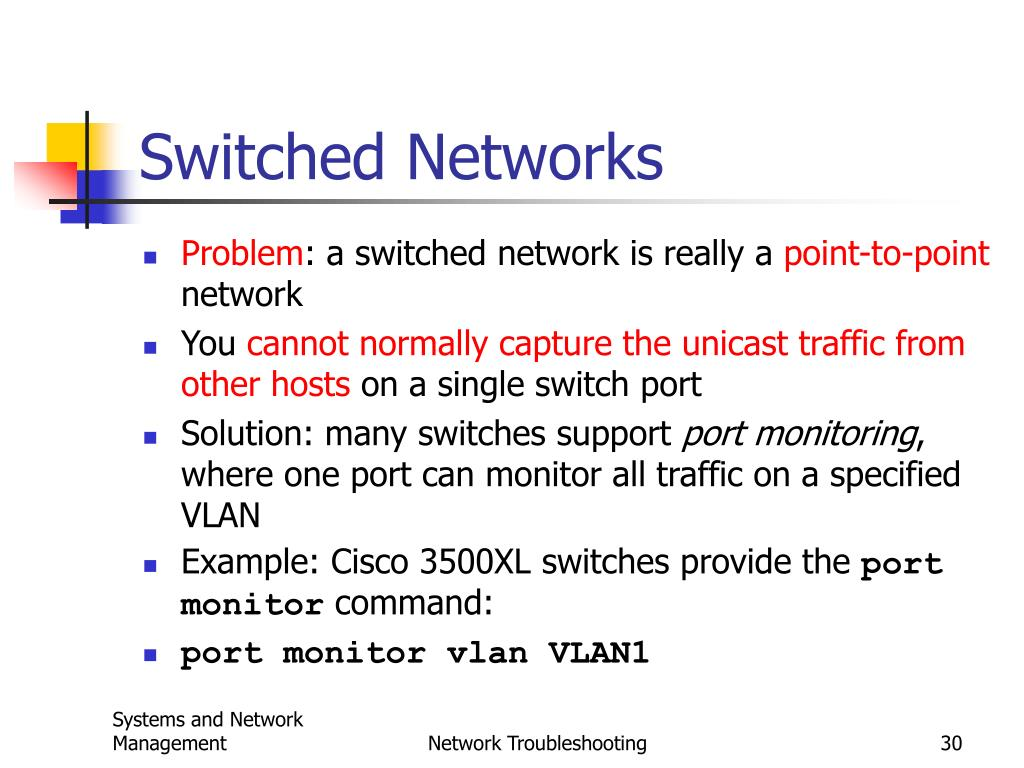 Switched Networks