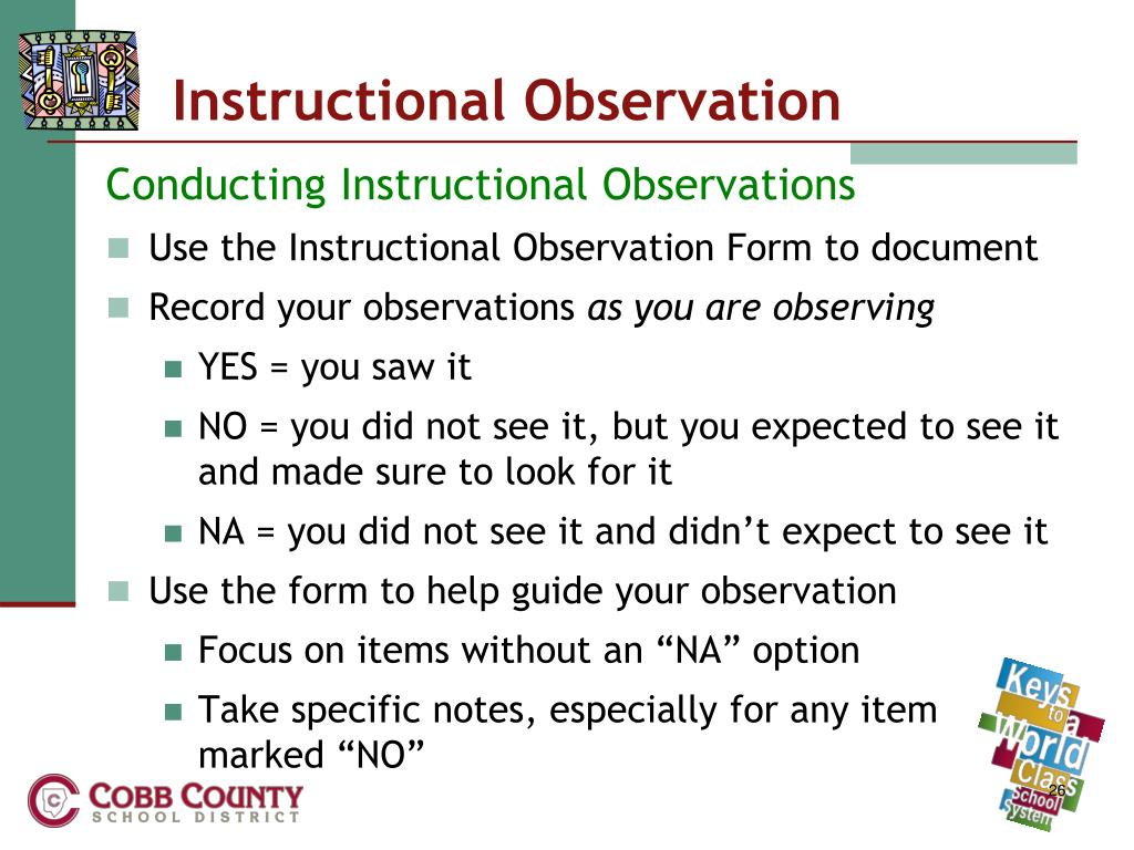 Instructional Observation